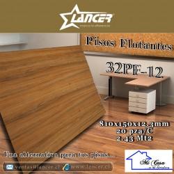 PISOS FLOTANTES 32PF-12