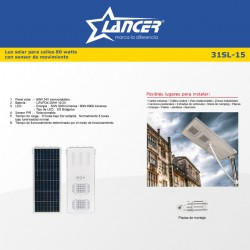 SISTEMA SOLAR DE ILUMINACION (32 WATTS) 31SL-15