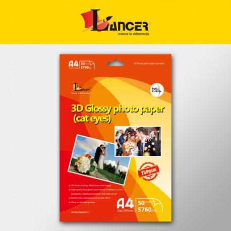 PAPEL FOTOGRÁFICO 3D 04P-36