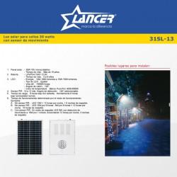 SISTEMA SOLAR DE ILUMINACION (10 WATTS) 01-31SL-13