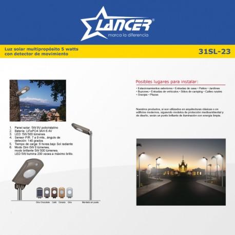 SISTEMA SOLAR DE ILUMINACION 01-31SL-22